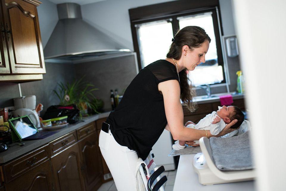 Lib ration reportage sur la maison de naissance de nancy for Maison de naissance remiremont